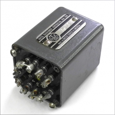 Original used UTC A-24 Tube Output Transformer  This is the transformer  that was used in the output stage of the UA LA-2A  Perfect working  condition,