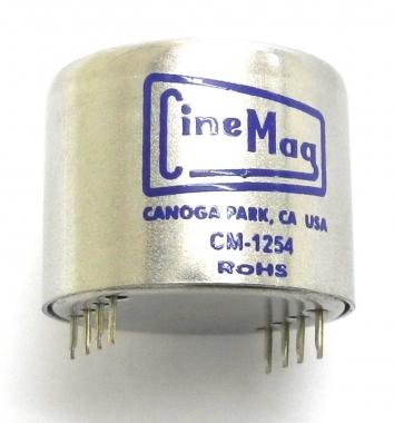 Cinemag 1254 Pc Enhanced Moving Coil Cartridge Transformer
