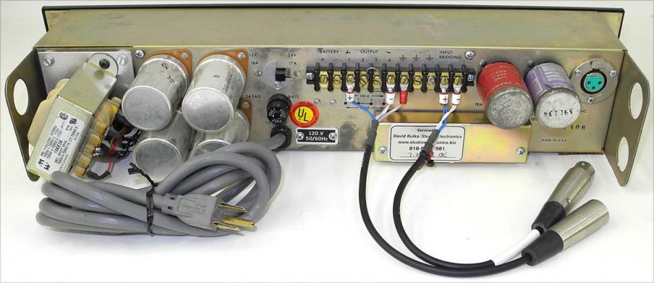 Altec 1591A High gain Mic Preamp / Mixer / Compressor, Full Refurb, Works  Great!