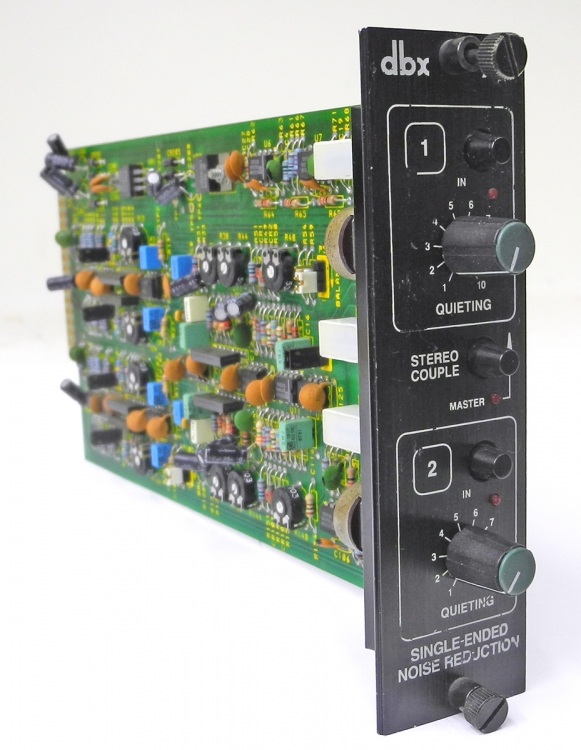 Dbx 929 Single Ended Dual Hiss Reduction Noise Module Guaranteed D9