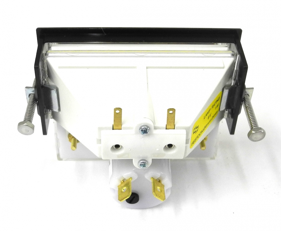 New Sifam AL29B Presentor VU Meter w/Light Box, Lamp, Mounting ...