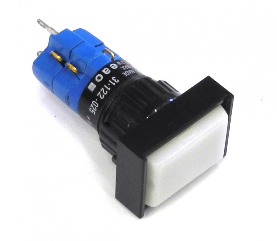 New EAO 31-122.025 Momentary 2 Pole DPST Illuminated Switch w ...