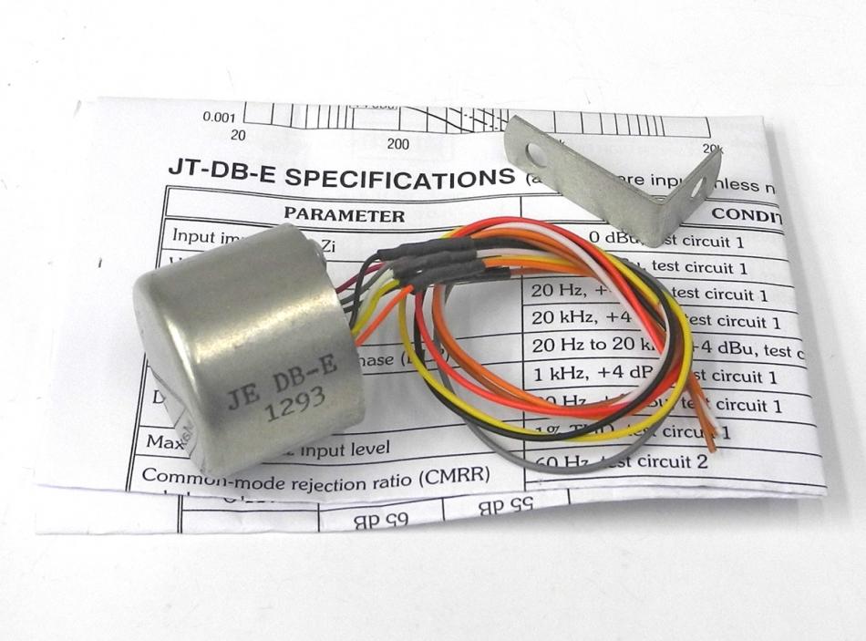 Used Jensen JE-DB-E Dual Faraday Shield Direct Box Unbal-Bal ...