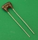 Silver Mica 4 condensateurs Mica 1800 pF 500 V 10/%