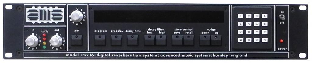 AMS RMX 16 / David Kulka Studio Electronic Burbank CA
